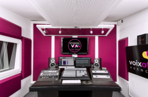 Studios VOA - Enregistrement Voix Off et Doublage - Studio Pinkbox