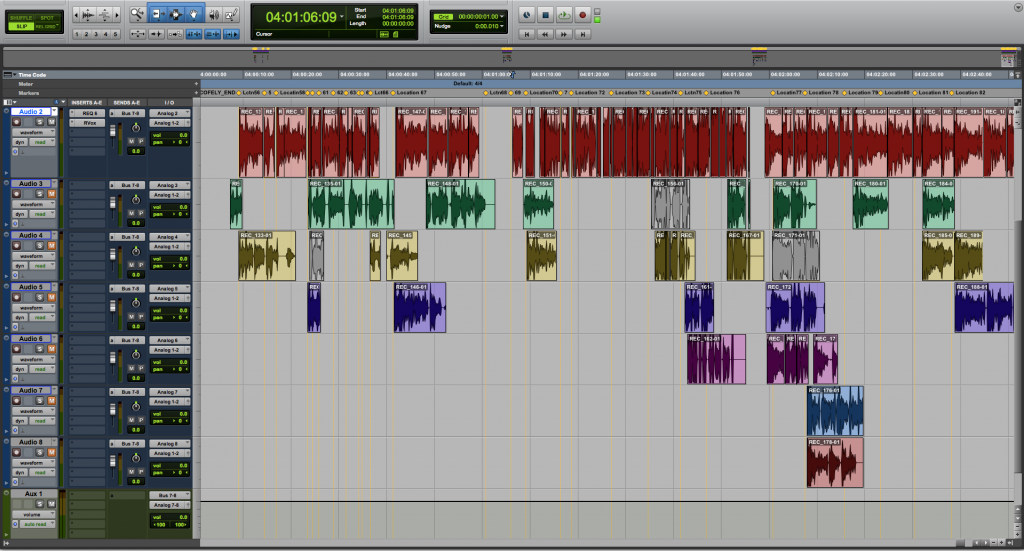 Montage mixage sound design voix off Studios VOA