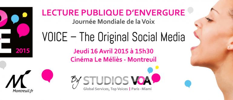 Lecture Publique d'Envergure by Studios VOA