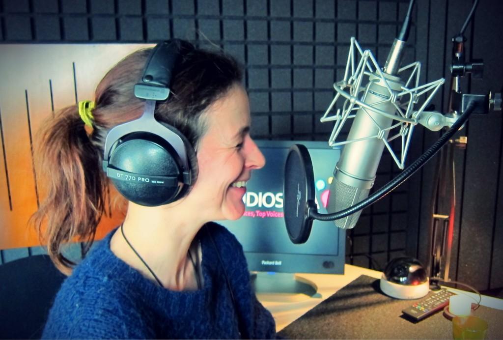 Portrait de Voix by Studios VOA_Irma Barry Schmitt comédienne Allemande