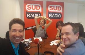 Studios VOA invité de l'émission Sud Radio C'est Vous sur les prouesses de la Voix et La Lecture Publique d'Envergure