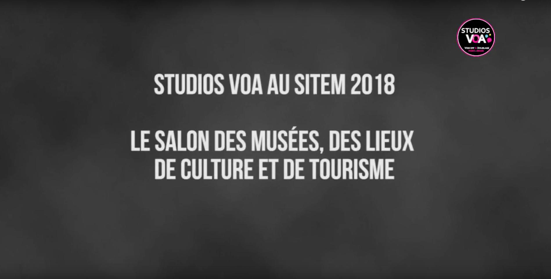 STUDIOS VOA AU SITEM 2018 - copie