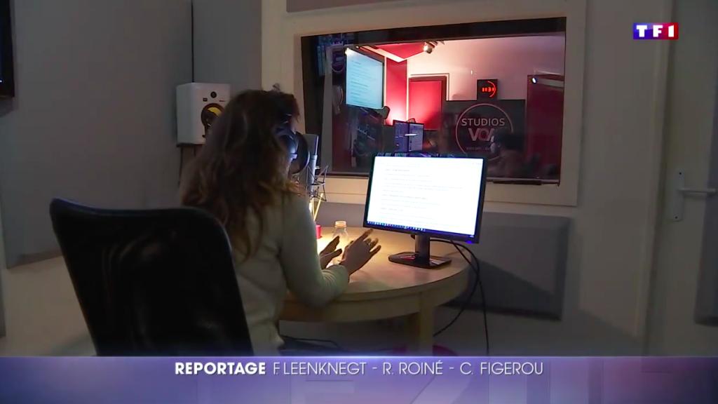 reportage TF1 JT 20H - STUDIOS VOA - Violaine