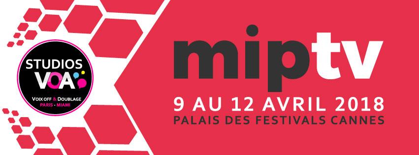 STUDIOS VOA au MIPTV 2018