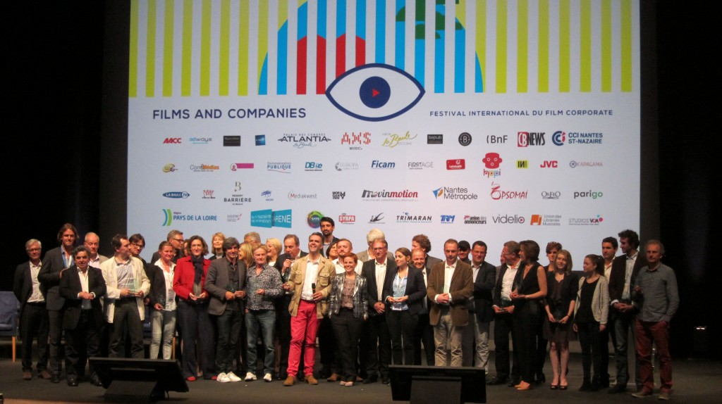 Laureats Festival Films and Companies