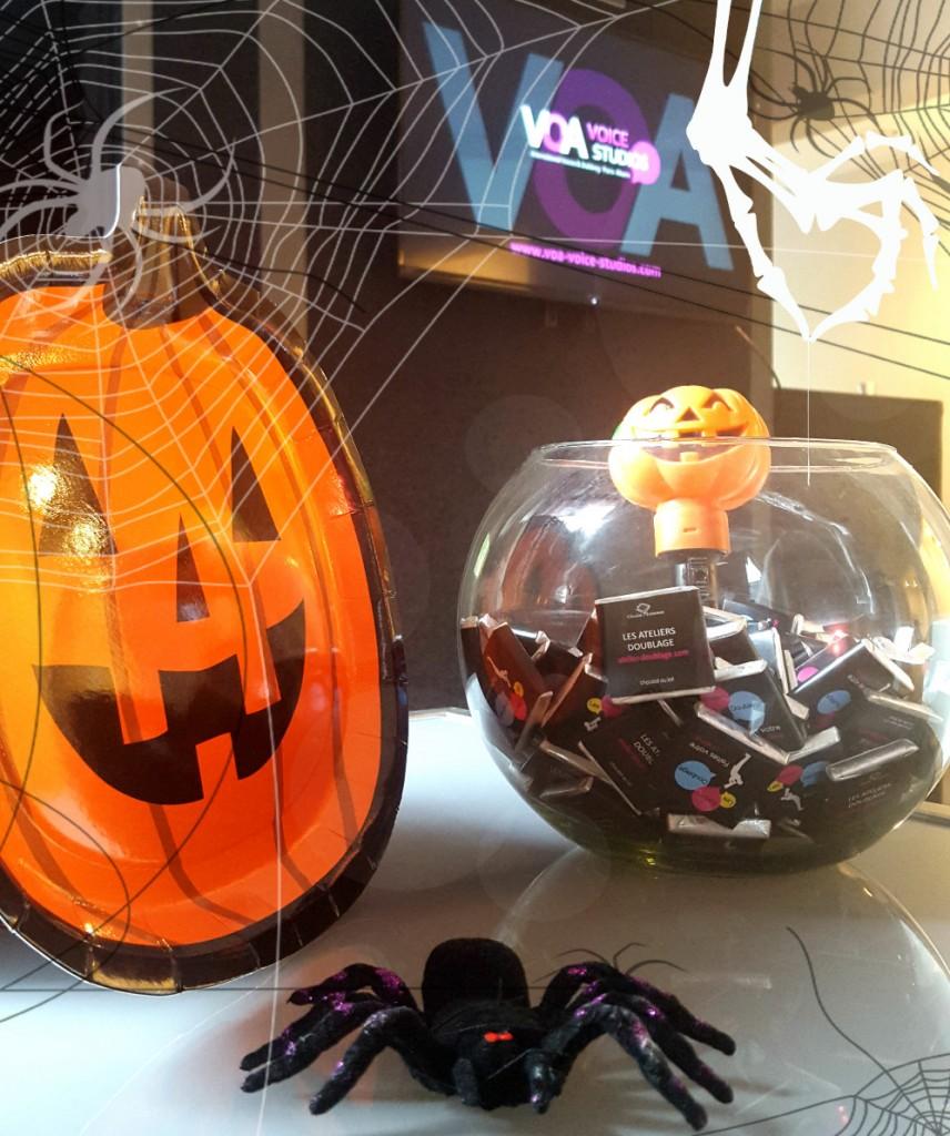 Voix Off d'Halloween chez STUDIOS VOA