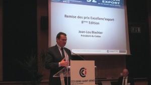 Remise Trophee Export Implantation Réussie Studios VOA - CCI Seine-Saint-Denis