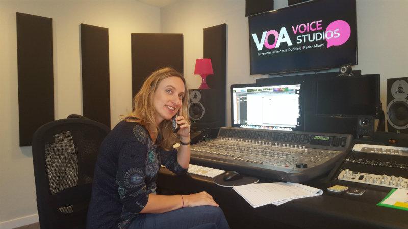 Céline Guerbert - Expertise Voix Off et Doublage Studios VOA émission Sud Radio c'est vous