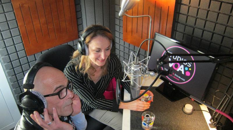 Emission Voix et Doublage Sud Radio c'est vous avec Emmanuel Karsen et Gaelle Savary depuis les Studios VOA