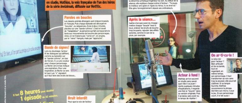 Article Okapi Doublage chez Studios VOA