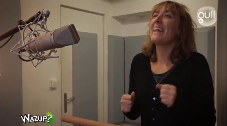 STUDIOS VOA fait découvrir les coulisses du Doublage de Dessin Animé dans l'émission Wazup diffusée sur Gulli