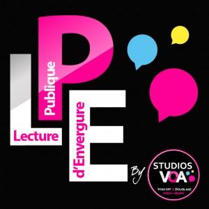Logo Lecture Publique d'Envergure by Studios VOA