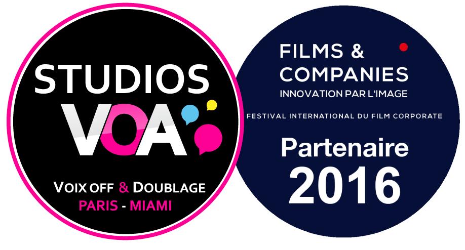 STUDIOS VOA partenaire du Festival Films and Companies