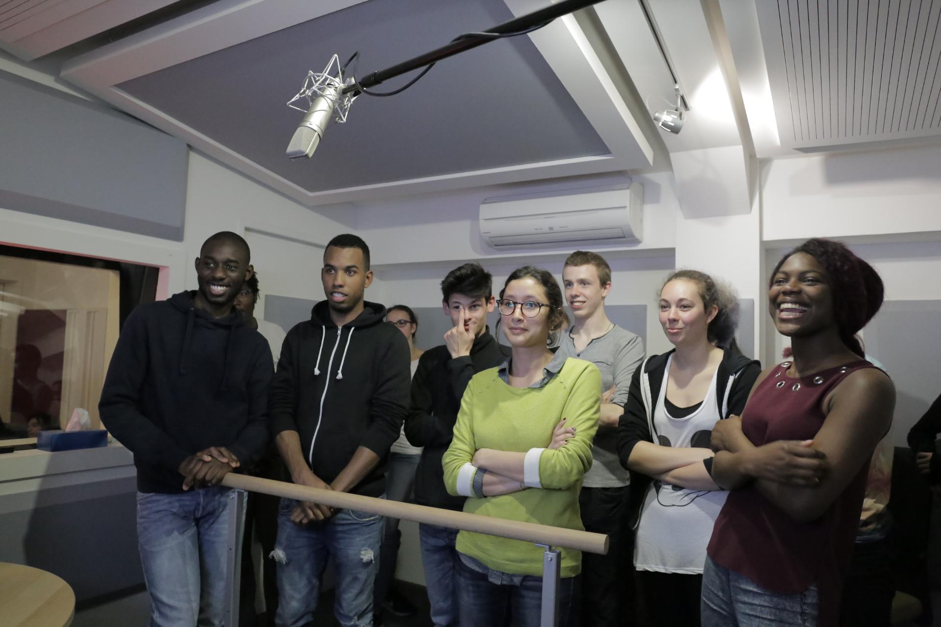 Cote De Villebon atelier doublage lycée les côtes de villebon
