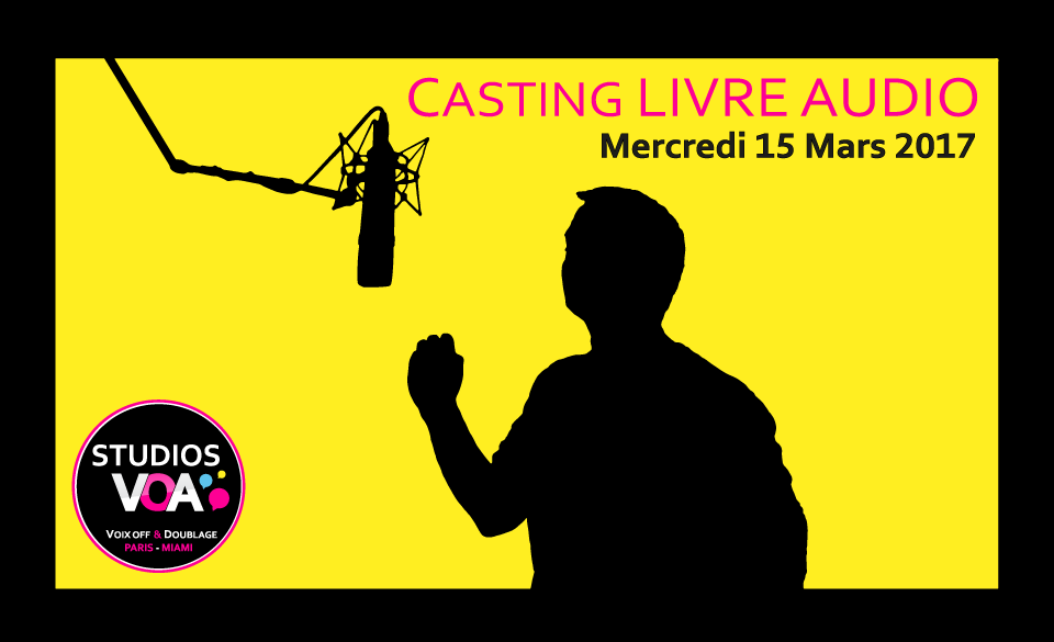 Casting Voix Off Livre Audio Studios Voa Voix Off