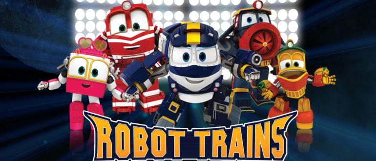 Doublage série animée Robot Trains diffusée sur Gulli