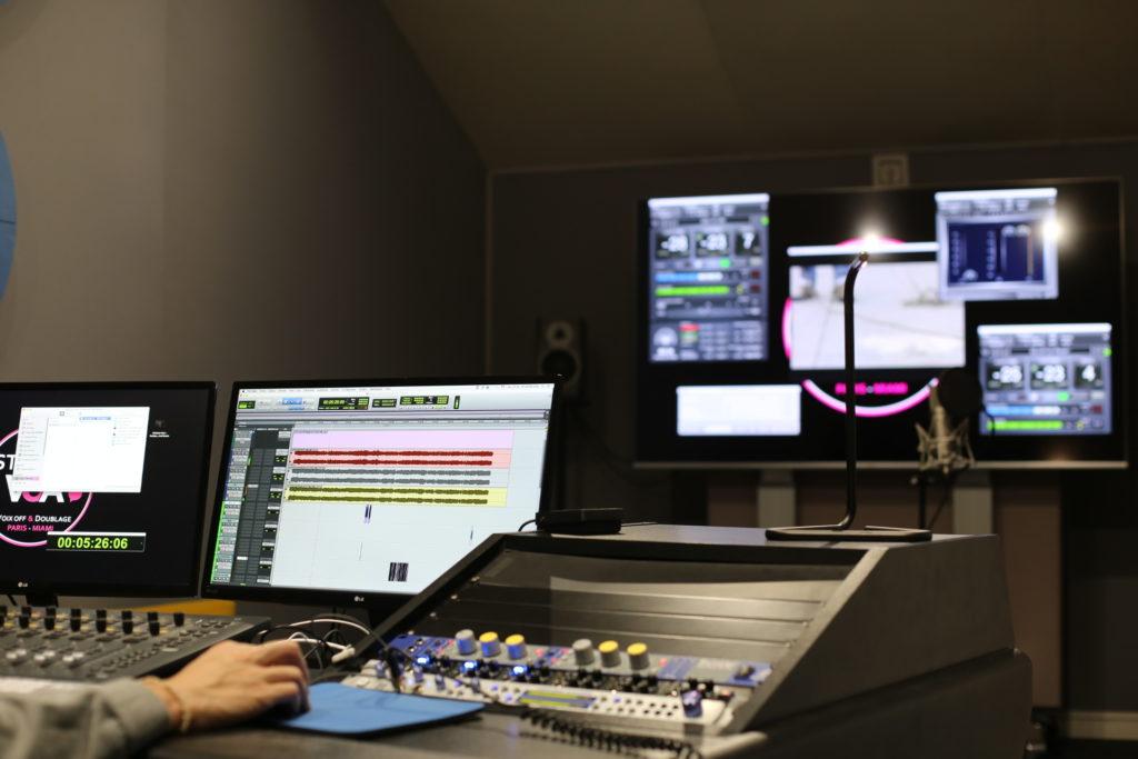 Studio d'enregistrement de Doublage STUDIOS VOA